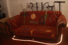 wrought sofa
